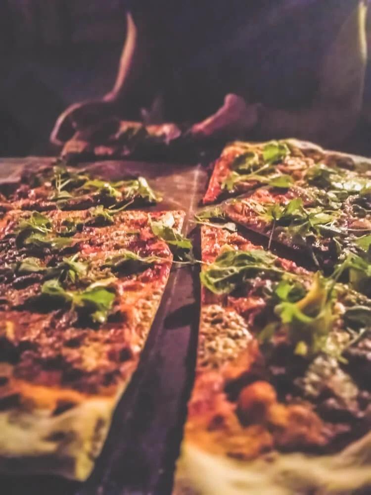 Port Barton pizza