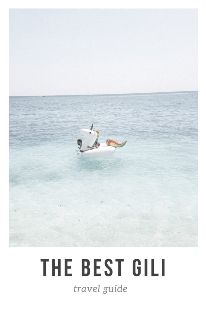 the best gili travel guide