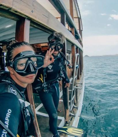 duiken komodo Flores
