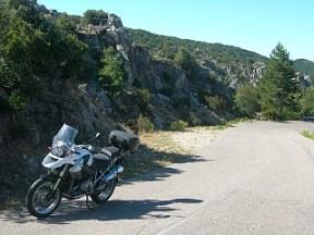 Auffahrt Monte Limbara