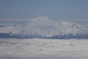 Teide im Schnee