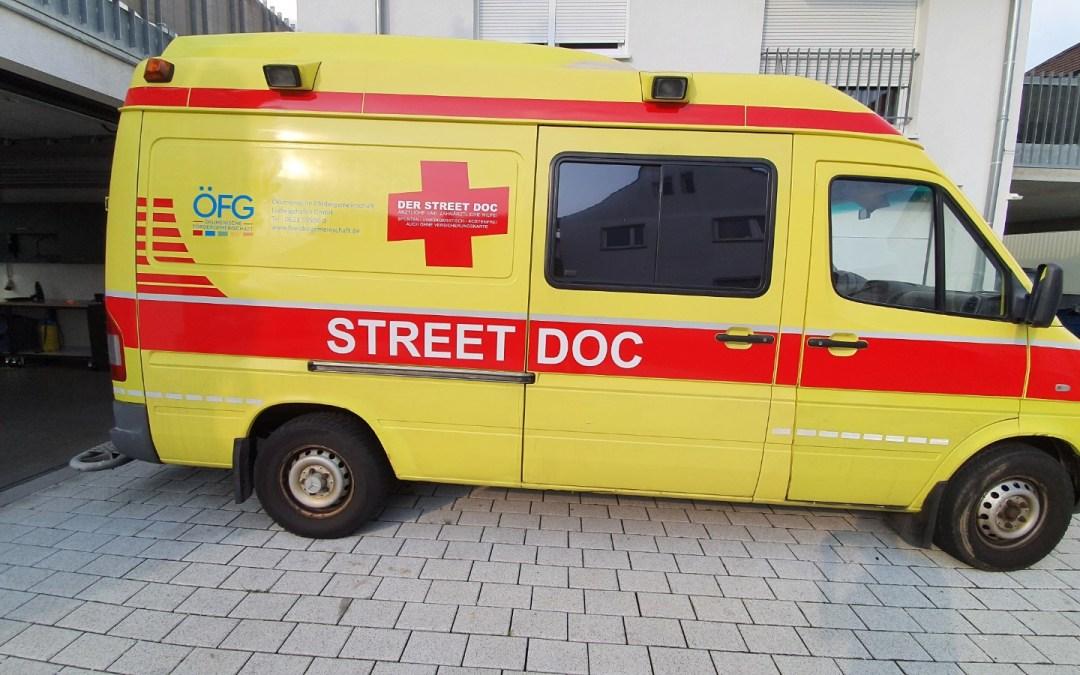 Der STREET DOC mobilisiert sich