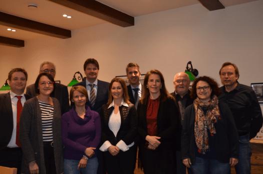 Vorstandschaft des Fördervereins Comenius-Gymnasium