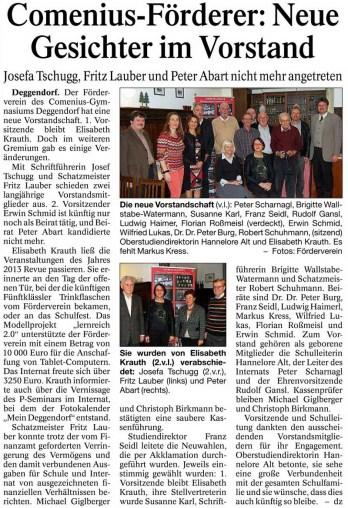Deggendorfer Zeitung 23.01.2014