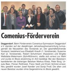 Deggendorfer Wochenblatt 22.02.2017 - Jahreshauptversammlung 2017