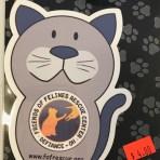 FFRC Logo Kitty Magnet