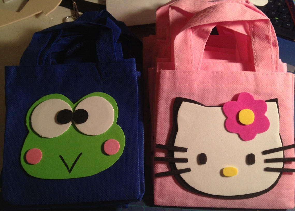 birthday party candy bags