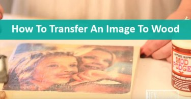 transfer an image to wood