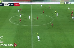 Foggia-Casertana 1-0 – Highlights