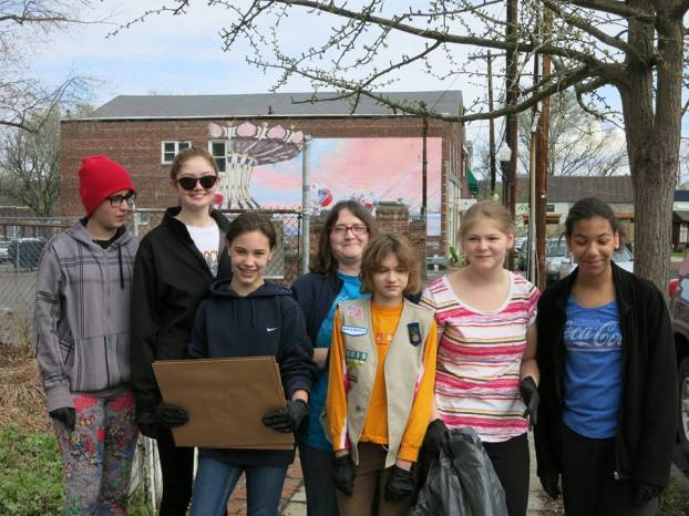 Clean Sweep-Girl Scout Troop 60039