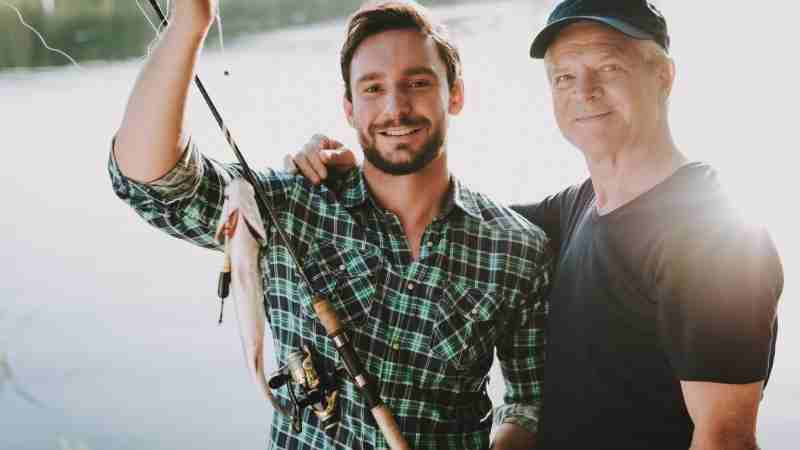babalar gününde balık tutun