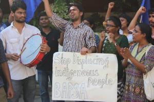 BAPSA demo at Delhi police station