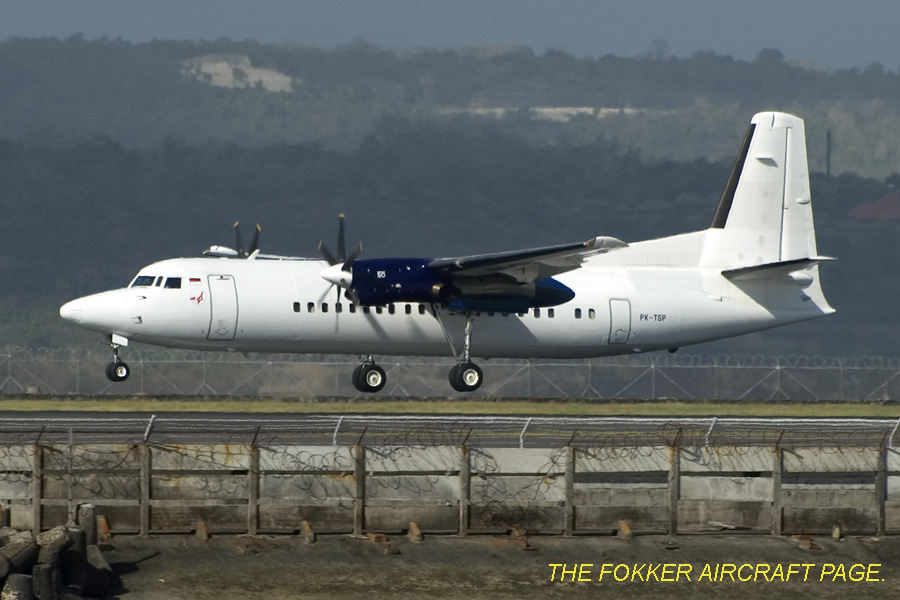 Fokker 50 - Indonesia Air Transport
