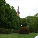 Flag Pole Installation
