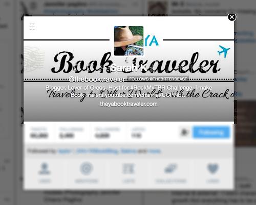 thebooktraveler twitter