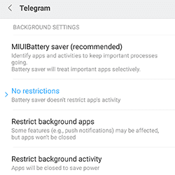 Xiaomi MiUI 8 Mengatasi Notifikasi Telat Tidak Masuk Widget Error