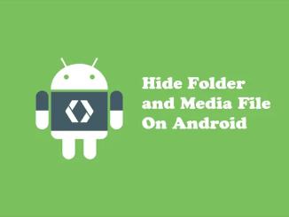 Cara Menyembunyikan File, Foto Atau Video Di Android Tanpa Aplikasi