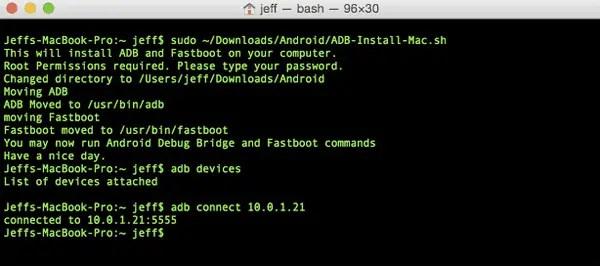 ADB Dan Fastboot di Mac OS
