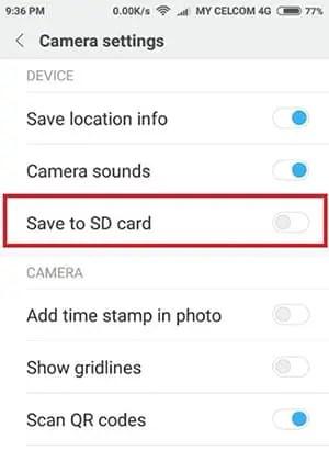 Simpan atau Pindahkan Foto, Video dan File Media lainnya di Memori Eksternal
