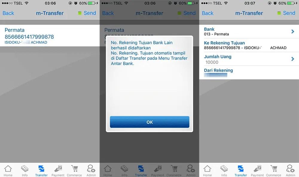 Isi Saldo Doku Wallet Dengan Mobile Banking BCA