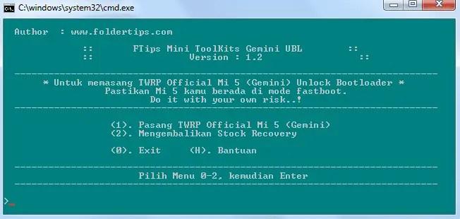 Cara Pasang / Install TWRP Recovery Dan Root Mi 5 (Gemini)