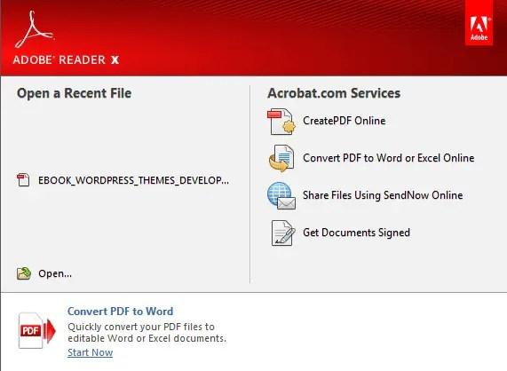 Bagaimana Cara Membuka File PDF?