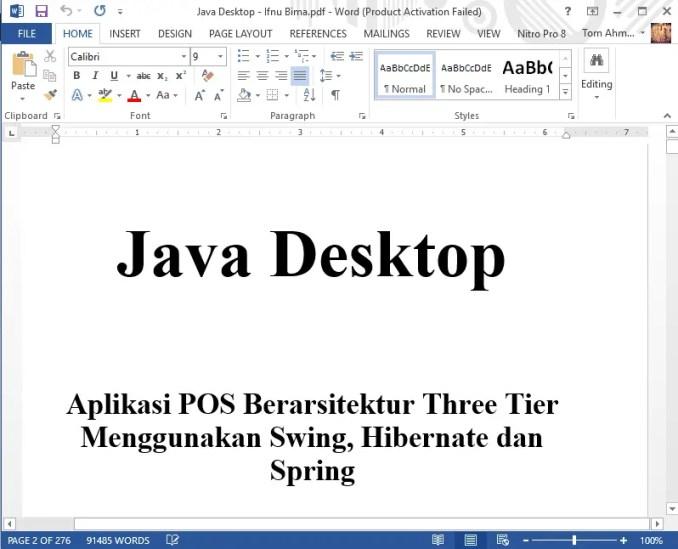 Cara Mengedit (Mengubah) File PDF
