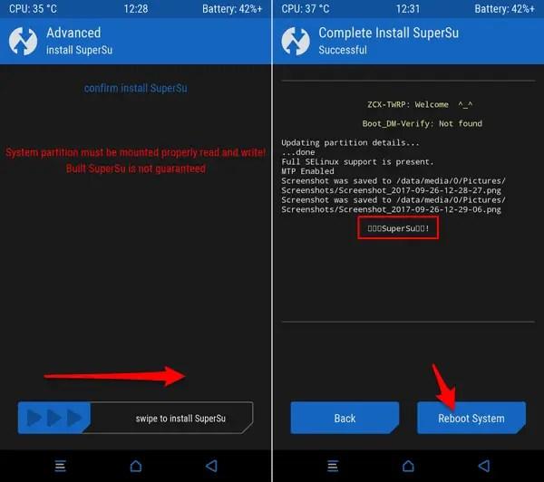 Root Langsung Menggunakan TWRP 3.0.2.X By By~XM