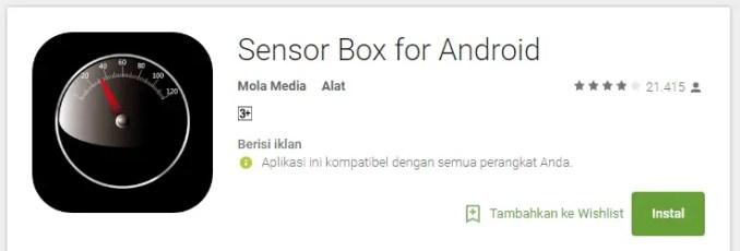 sensor error pada redmi note 3 pro