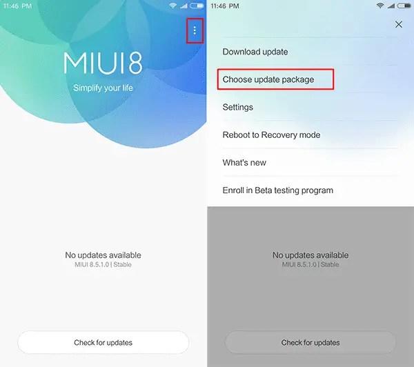 Cara Update MIUI 9 Redmi 4X / Redmi Note 4X Global tanpa PC