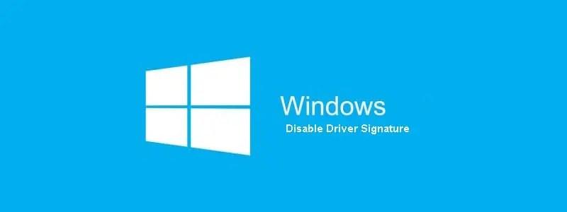 Cara Mudah Disable Driver Signature Enforcement Windows 7/8/10