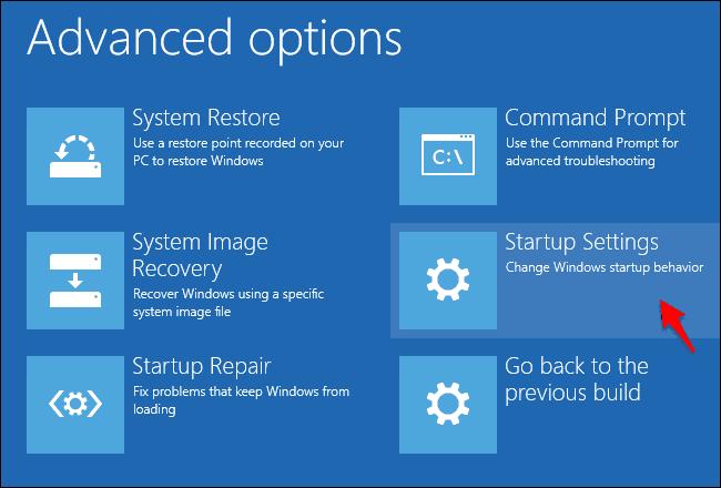 Menonaktifkan Driver Signature Windows 8/10