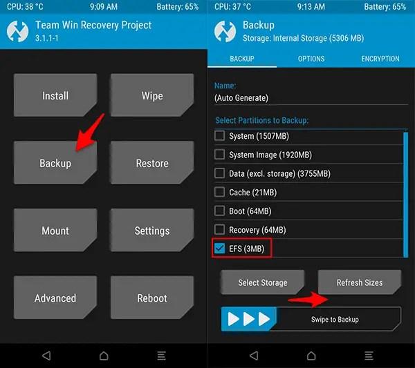 Cara Backup dan Restore IMEI (Partisi EFS) HP Android tanpa