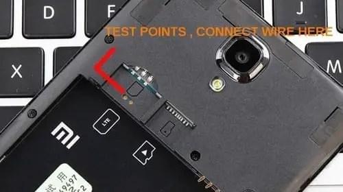 Test Poin Redmi Note 4G