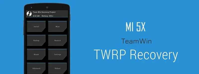 Cara Pasang (Install) TWRP Recovery & Root MI 5X Tiffany