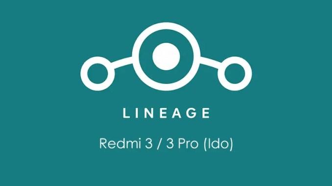 Cara Pasang ROM Nougat LineAgeOS 14.1 Redmi 3/3 Pro (Ido)
