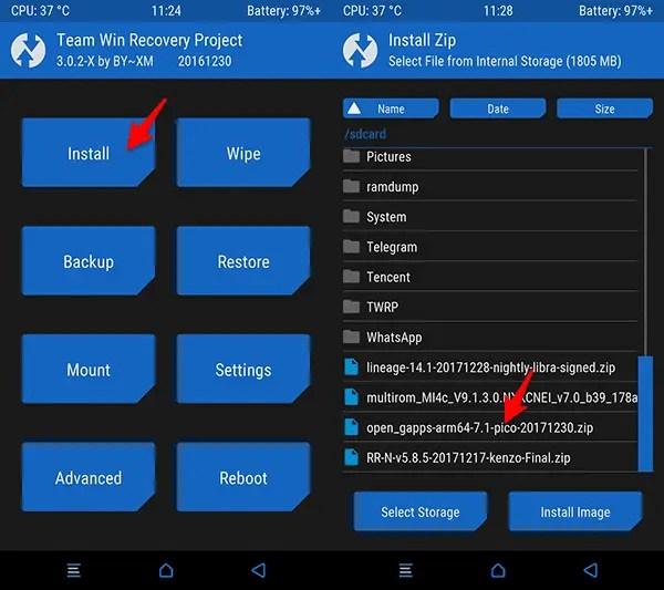 Cara Update ROM Nougat Redmi Note 3 Pro (Kenzo) R Remix 5.8.5 Final