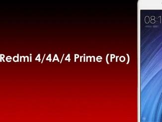 Cara Install / Pasang TWRP dan Root Redmi 4A / 4 / 4 Prime (Pro)