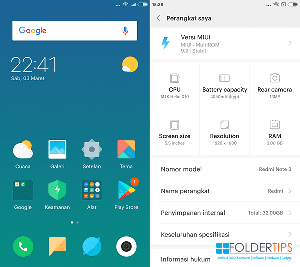 "Pasang ROM ""Global"" MIUI 9 Redmi Note 3 MTK Tanpa UBL (SP Flash Tools)"
