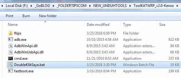 Cara Pasang TWRP RedWolf Redmi Note 3 Pro/SE (Kenzo/Kate)