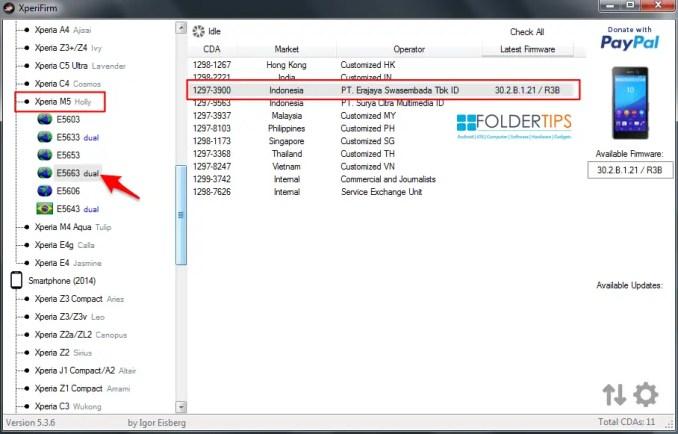 Cara Membuat ROM FTF Sony Xperia dengan XperiFirm