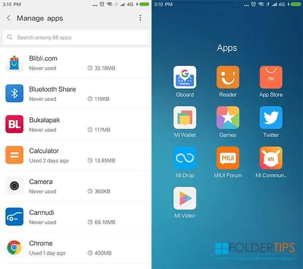 Cara Menghapus Aplikasi Bawaan / Bloatware Xiaomi Tanpa ROOT