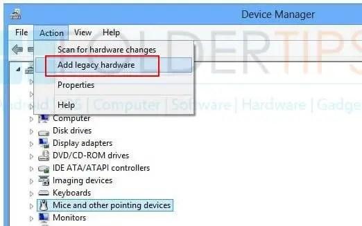 Cara Pasang / Install Drivers MediaTek USB VCOM secara Manual