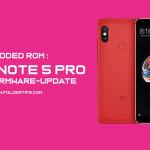 Modded ROM : Kumpulan ROM Redmi Note 5 Pro