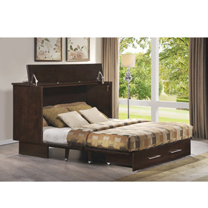 Twin Size Creden ZzZ Cabinet Bed 503 20 AFUFS Rollaway