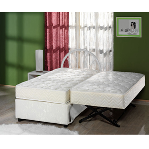 The Sensational Complete High Rise Trundle Bed 500 Lbs