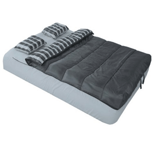 Adventure Trails Queen Size 6 Piece Bed In A Bag Set For Air Mattress