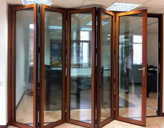 timber bi fold doors at affordable