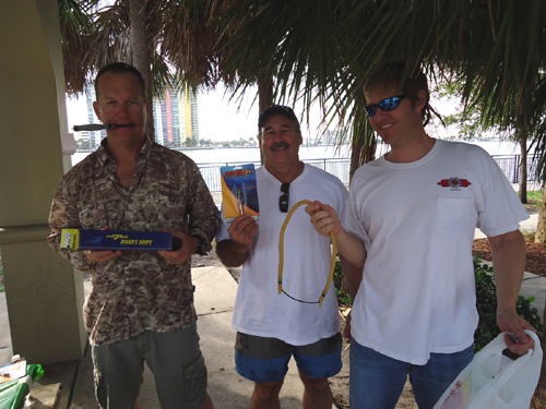 Palm Beach Freedivers Polespear Tournament, Jan. 28