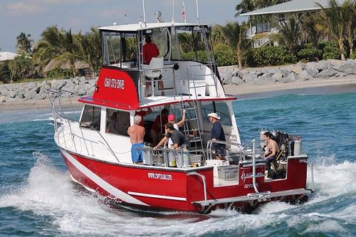Kyalami, Jupiter's finest dive boat